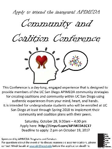Community and Coalition Conference