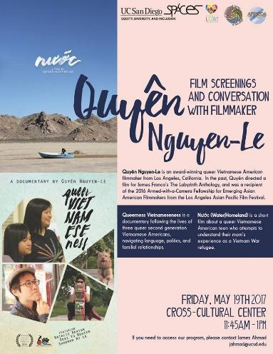 Film Screening and Conversation with Quyen Nguyen-Le